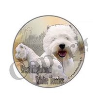 Dekal West Highland terrier